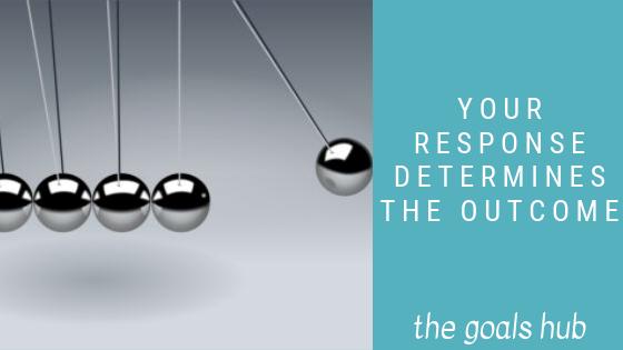 response determines outcome