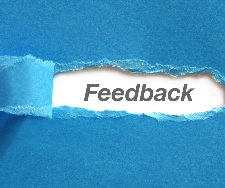 don't forget to give feedback