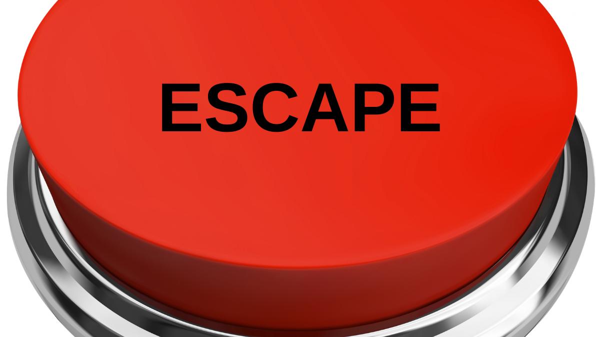 covid-19 escape button